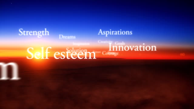 Inspirational words video