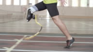 Inspiring Paralympic Athlete Running video