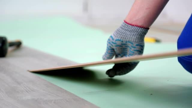 installation of flooring laminate video