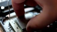 Installing a computer processor video