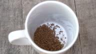 Instant Coffee Preparation_HD video