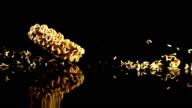 instant noodles Drop in Slow motion video