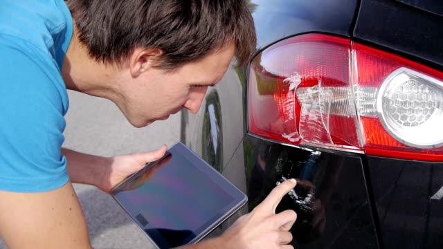 Insurance agent using digital tablet video