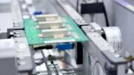 intelligent artificial equipment in modernization factory video