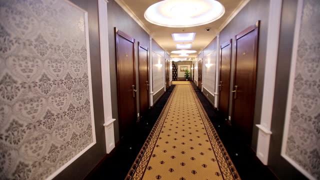 Interior Corridor Hotel video