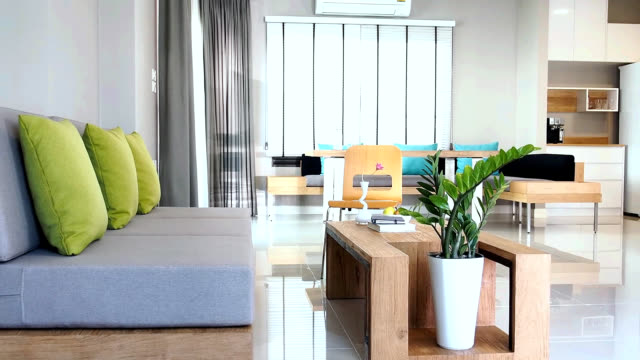 Interior design of Living & Dining room video
