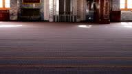 Sharm el-Sheikh, Egypt - November 30, 2016: interior inside a mosque video