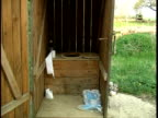interior of an outhouse (Original PAL) video