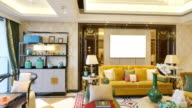 interior of luxury living room video