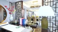 interior of modern study video