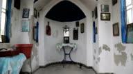 Interior of small temple video