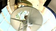 Interior of Split Rock Lighthouse video