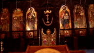 Interior of the Orthodox Church video