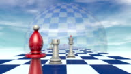 International relationships (chess metaphor). video