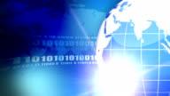 Internet Concept Background.Blue video