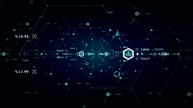 Internet Data Ports Blue video