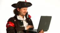 Internet pirate video