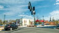 Intersection in Hendersonville, North Carolina video
