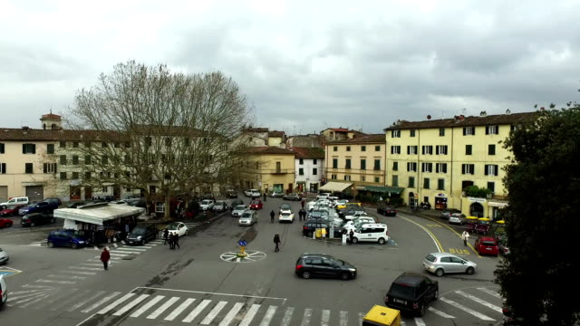 Intersection in Lucca,Italy video