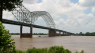 Interstate Bridge Over Mississippi video