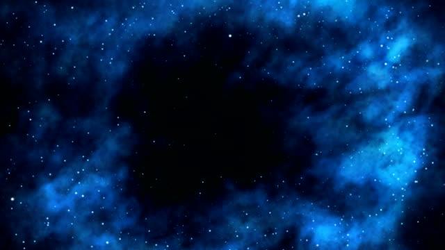 Into a black hole video