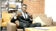 Invitation Gesture by Businessman, Inviting , Portrait video