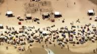 Ipanema Beach  - Aerial View - Rio de Janeiro, Rio de Janeiro, Brazil video