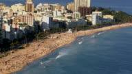Ipanema Beach, Rio de Janeiro, Brazil video