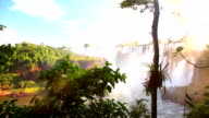 Iquazu Falls Dolly Shot video