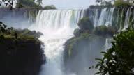 Iquazu Falls Pan Down video