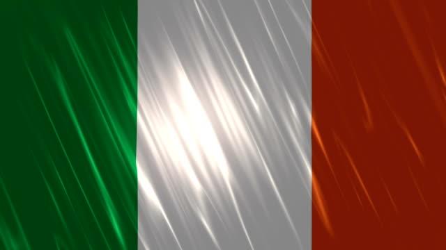 Ireland Flag Loopable Animation video