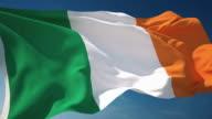 4K Ireland Flag - Loopable video