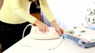 Ironing towel video