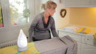 Ironing video