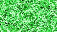 irregular shape pattern background green fast video