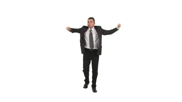 HD: Irritated Businessman video