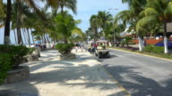 Isla Mujeres of Cancun coast video