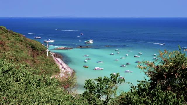 Island panorama video