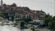 Isola Superiore  - Aerial View - Piedmont, Verbania, Stresa, Italy video