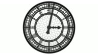 Isolated Clock video
