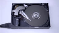 Isolated hard drive from the computer video