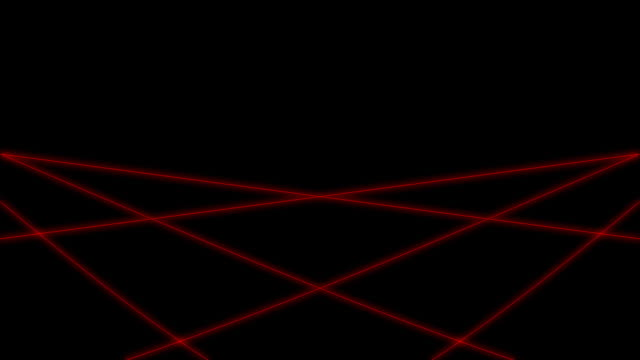 Isolated Red Laser Loop video