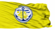 Isolated Waving National Flag of Anchorage City video