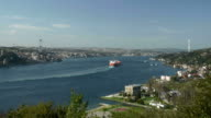 Istanbul and Bosphorus time lapse video