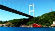 Istanbul Bosphorus Bridge II - HD video