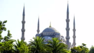 Istanbul. Sultan Ahmet Mosque, also known as Blue Mosque. video