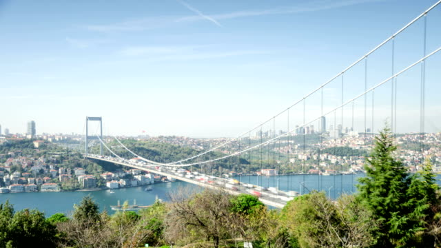 TIME LAPSE: Istanbul traffic two time lapses video
