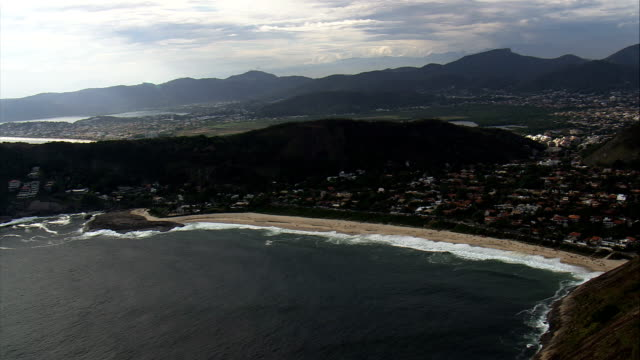 Itacoatiara  - Aerial View - Rio de Janeiro, Niterói, Brazil video