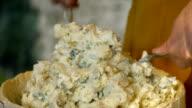 Italian cheese food video