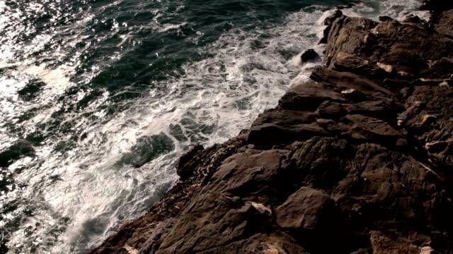 Italian coastline video